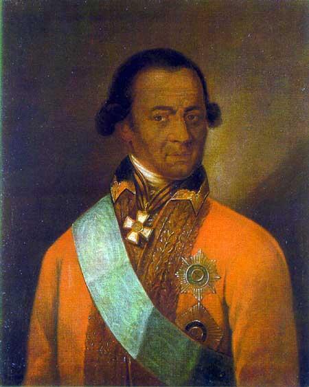 Abram Petrovich Gannibal (1696 1781)